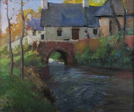 Mill Stream in Autumn